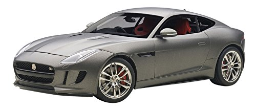 Jaguar F-Type R Coupe (matt grey) 2015 von AUTOart