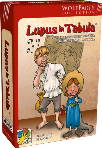 ABACUSSPIELE 69254 - Lupus in Tabula von Abacus Spiele