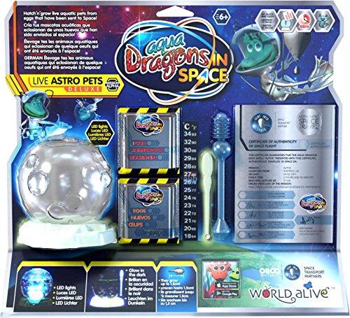 Natur & Wissenschaft Lernspielzeug Aqua Dragons 4003 Unterwasserwelt Deluxe-Tiefsee-Aquarium mit LED-Leuchten