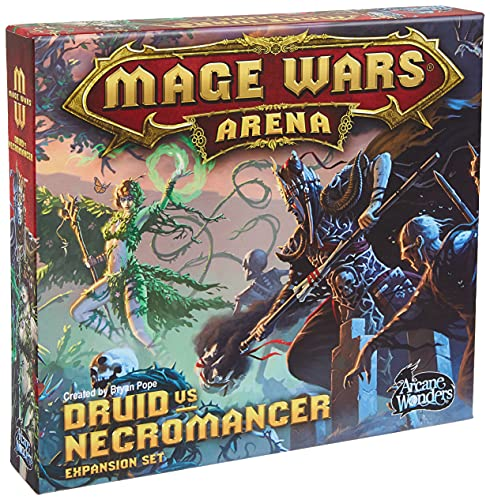 Arcane Wonders ARWWX2DN - Mage Wars Druid Vs Necromancer Expansion von Arcane Wonders