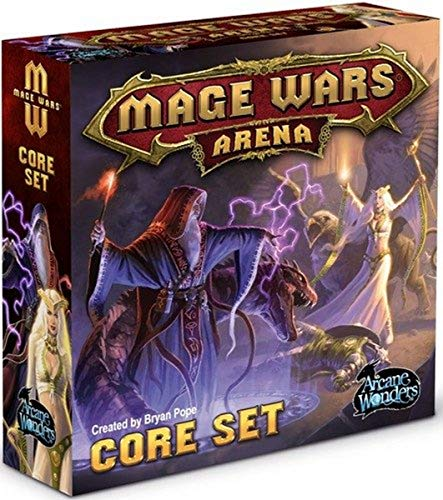 Arcane Wonders ARWS2015 - Mage Wars Core Set New, Kartenspiel von Arcane Wonders