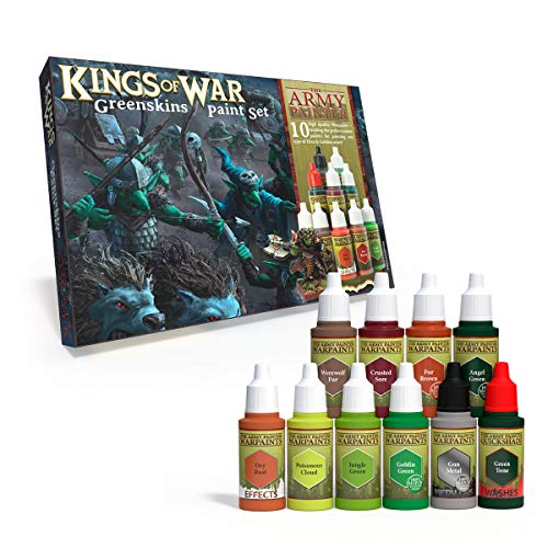 The Army Painter Kings of War Greenskins Paint Set von Army Painter