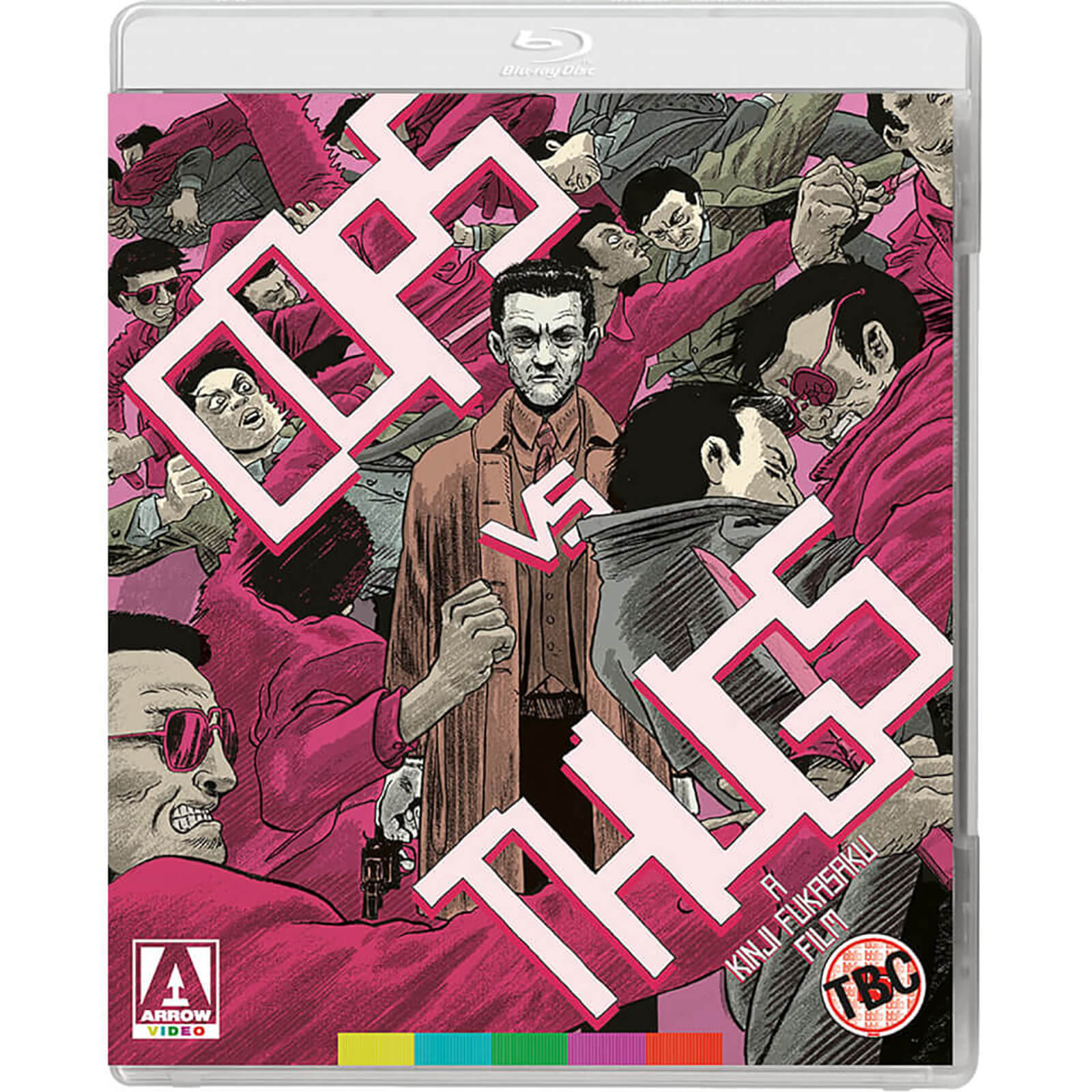 Cops vs Thugs - Dual Format (Includes DVD) von Arrow Video