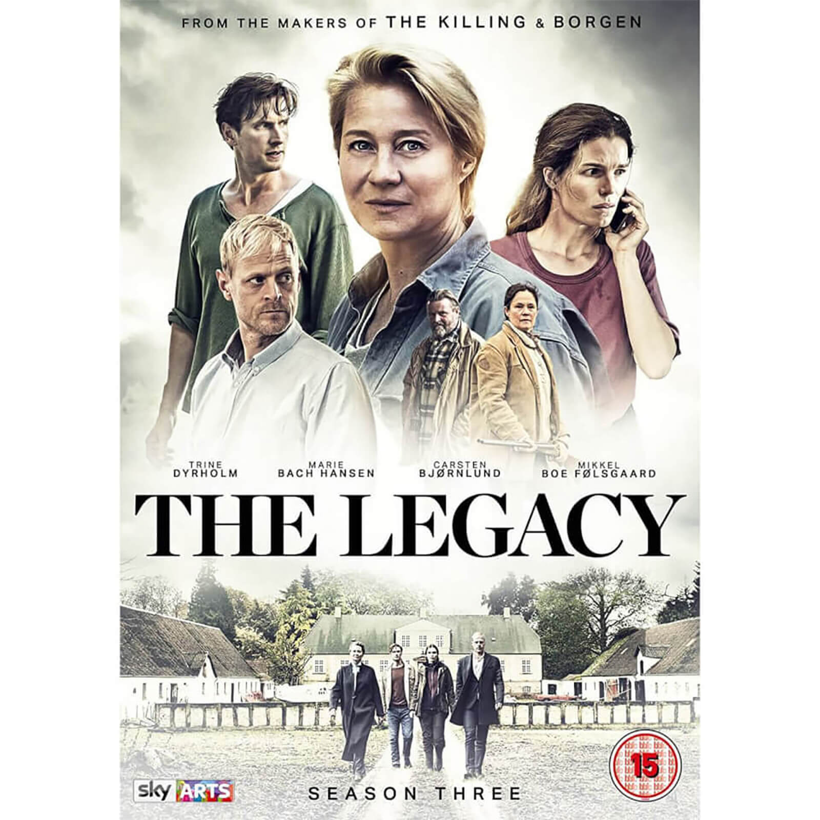 The Legacy - Season 3 von Arrow Video