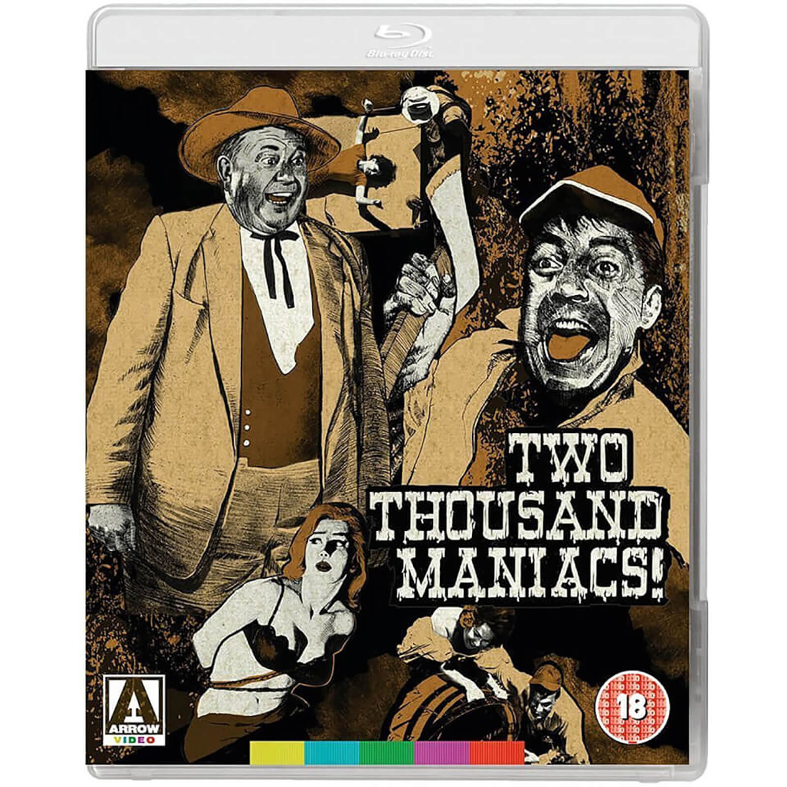 Two Thousand Maniacs von Arrow Video