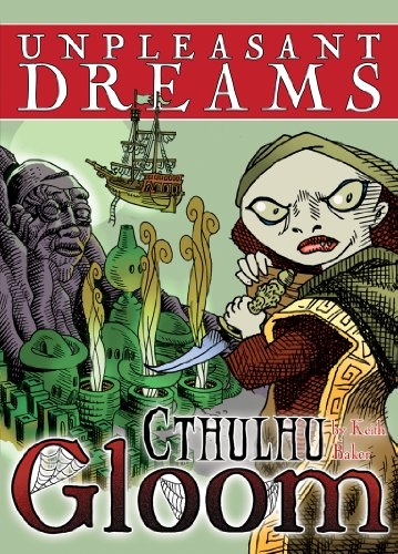 Atlas Games ATG01331 - Cthulhu Gloom - Unpleasant Dreams, Kartenspiel von Atlas