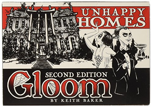 Atlas Games ATG01352 - Gloom - Unhappy Homes, 2nd Edition, Kartenspiel von Atlas