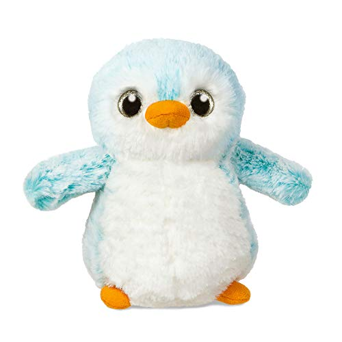 Aurora World 73888 - Plüschtier - Pompom Pinguin, 6 Zoll / 15 cm, blau von Aurora World Ltd