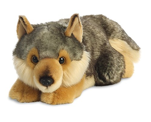 "Aurora World 26264"" MiYoni Wolf Lying Plüsch, 11 Zoll von Aurora World Ltd"