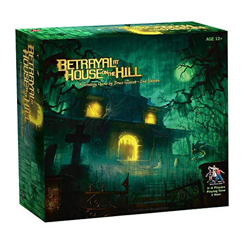 Wizards of The Coast True 266330000 - Betrayal at House on The Hill von Avalon Hill