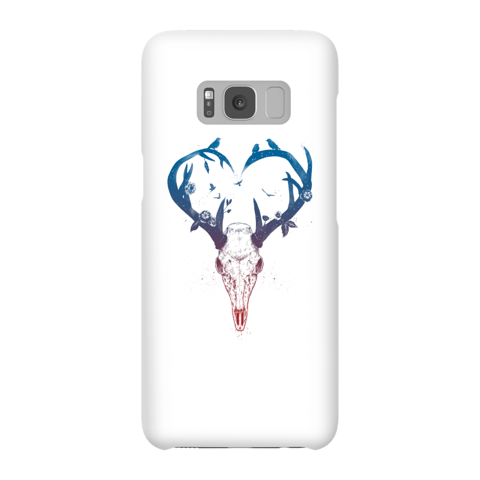 Balazs Solti Antlers Phone Case for iPhone and Android - Samsung S8 - Snap Case - Gloss von Balazs Solti