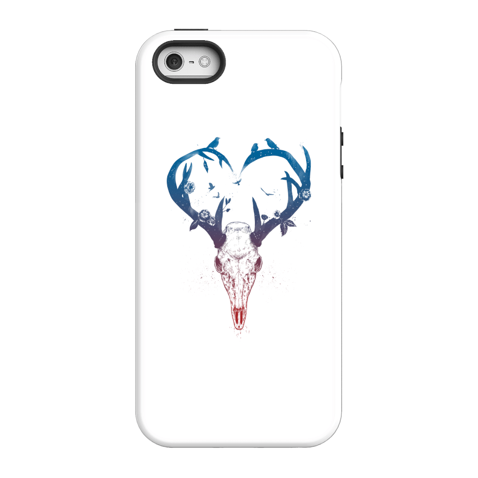 Balazs Solti Antlers Phone Case for iPhone and Android - iPhone 5/5s - Tough Case - Matte von Balazs Solti