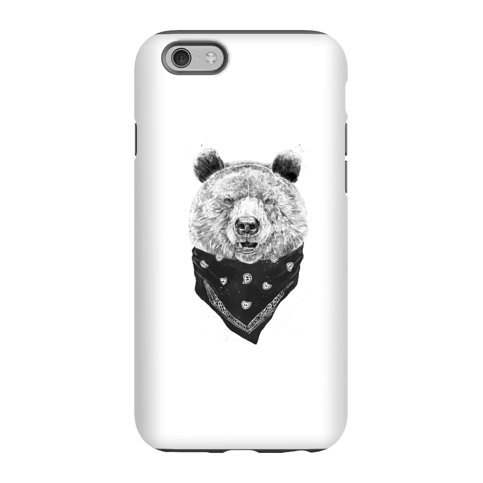 Balazs Solti Bandana Panda Phone Case for iPhone and Android - iPhone 6S - Tough Case - Matte von Balazs Solti
