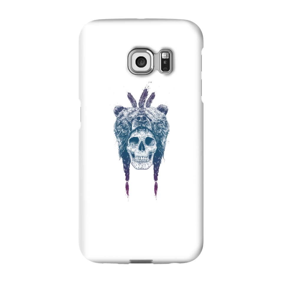 Balazs Solti Bear Head Phone Case for iPhone and Android - Samsung S6 Edge Plus - Snap Case - Gloss von Balazs Solti