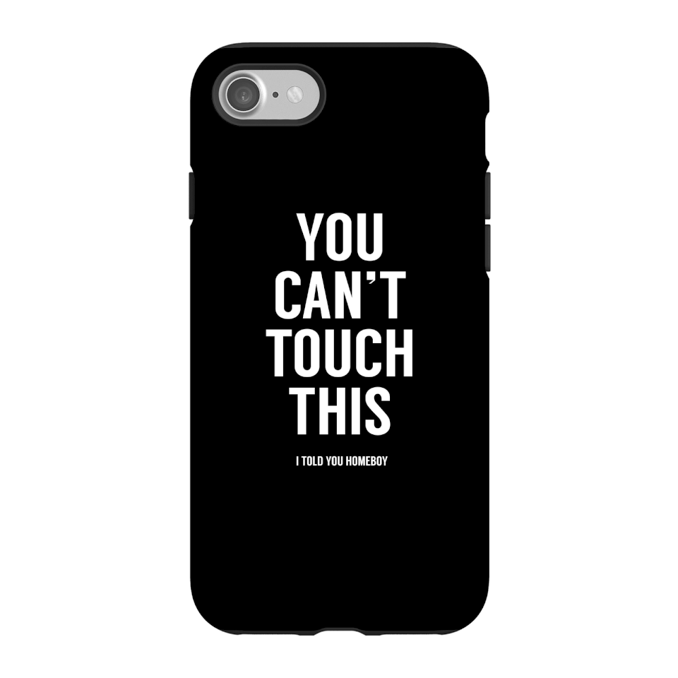 Balazs Solti Can't Touch This Phone Case for iPhone and Android - iPhone 7 - Tough Case - Gloss von Balazs Solti