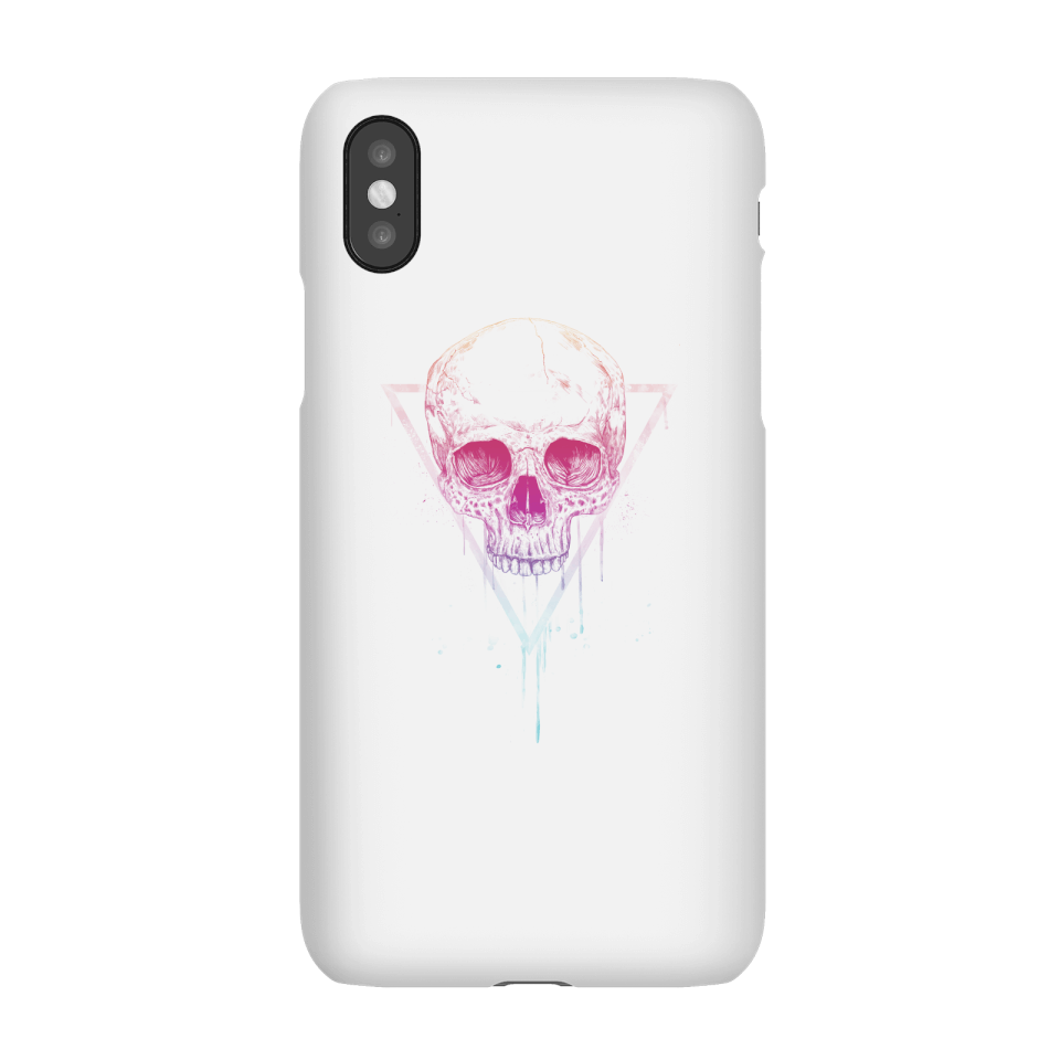 Balazs Solti Colourful Skull Phone Case for iPhone and Android - iPhone X - Snap Case - Gloss von Balazs Solti