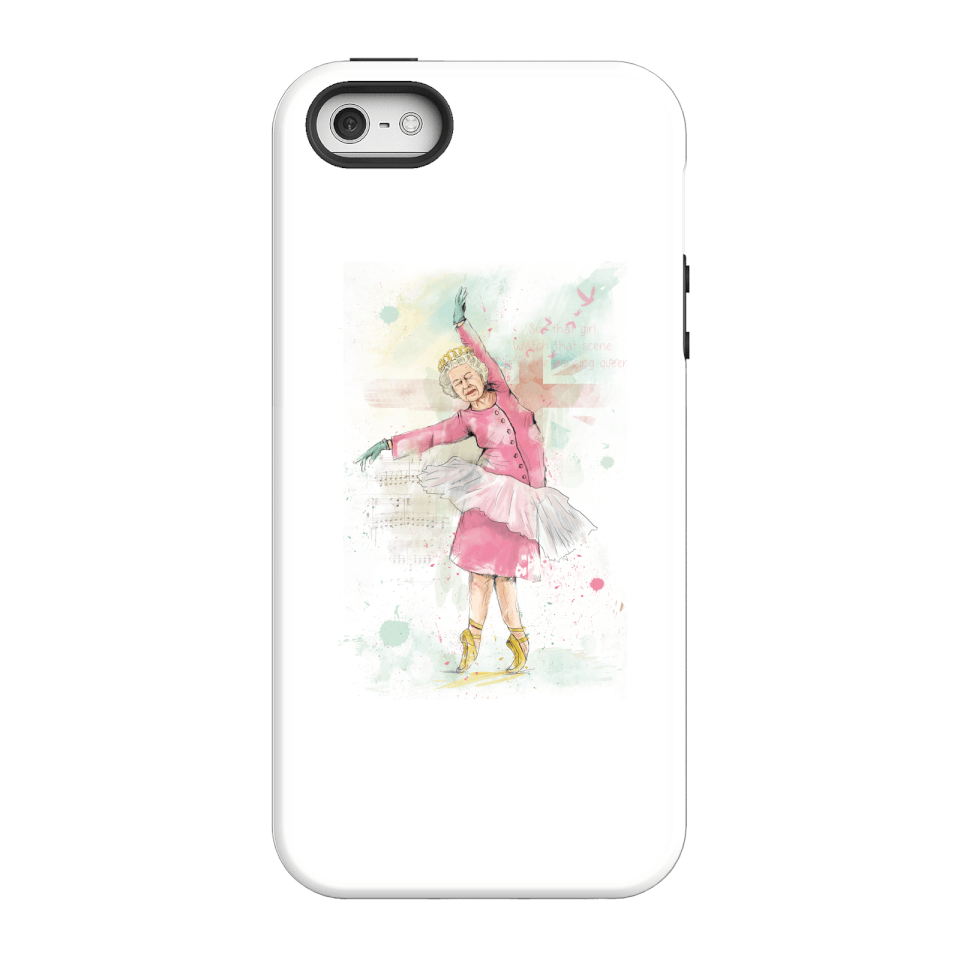 Balazs Solti Dancing Queen Phone Case for iPhone and Android - iPhone 5/5s - Tough Case - Gloss von Balazs Solti