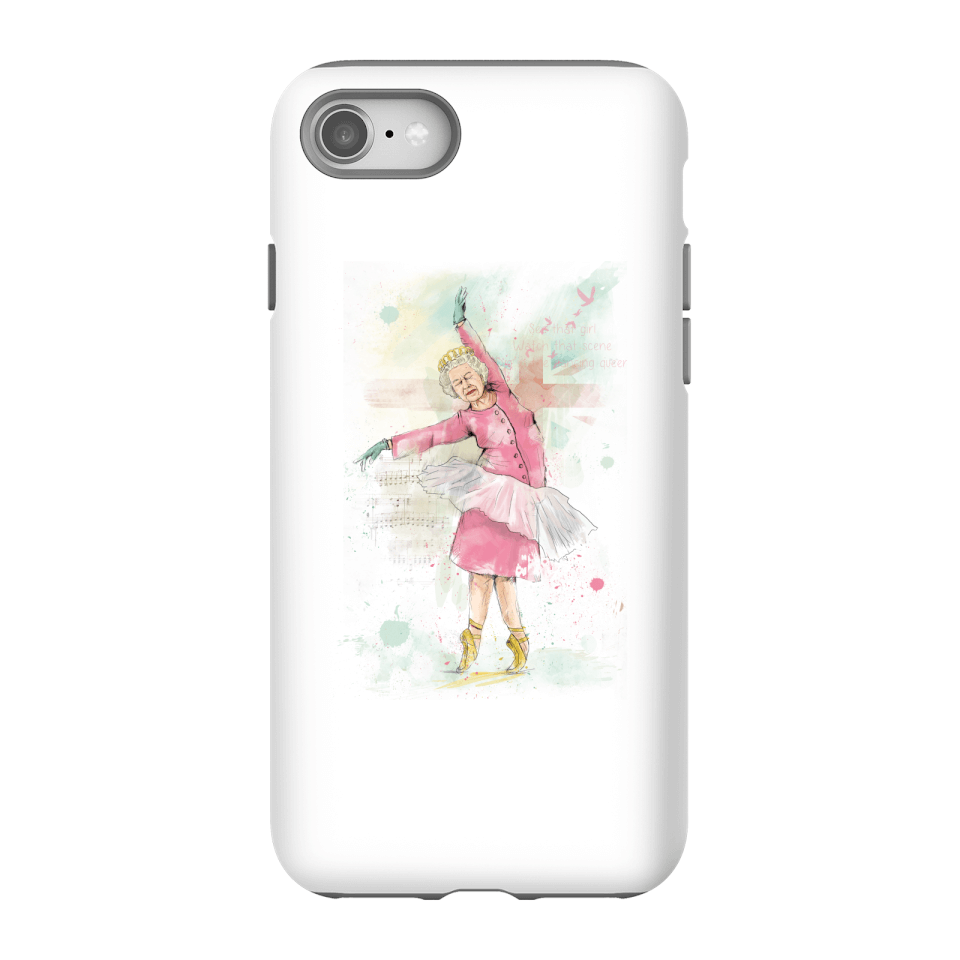 Balazs Solti Dancing Queen Phone Case for iPhone and Android - iPhone 8 - Tough Case - Matte von Balazs Solti
