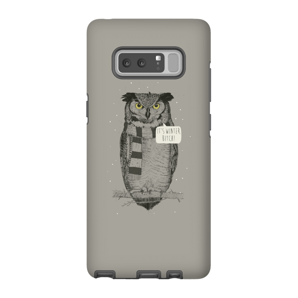 Balazs Solti It's Winter, Bitch! Phone Case for iPhone and Android - Samsung Note 8 - Tough Case - Gloss von Balazs Solti