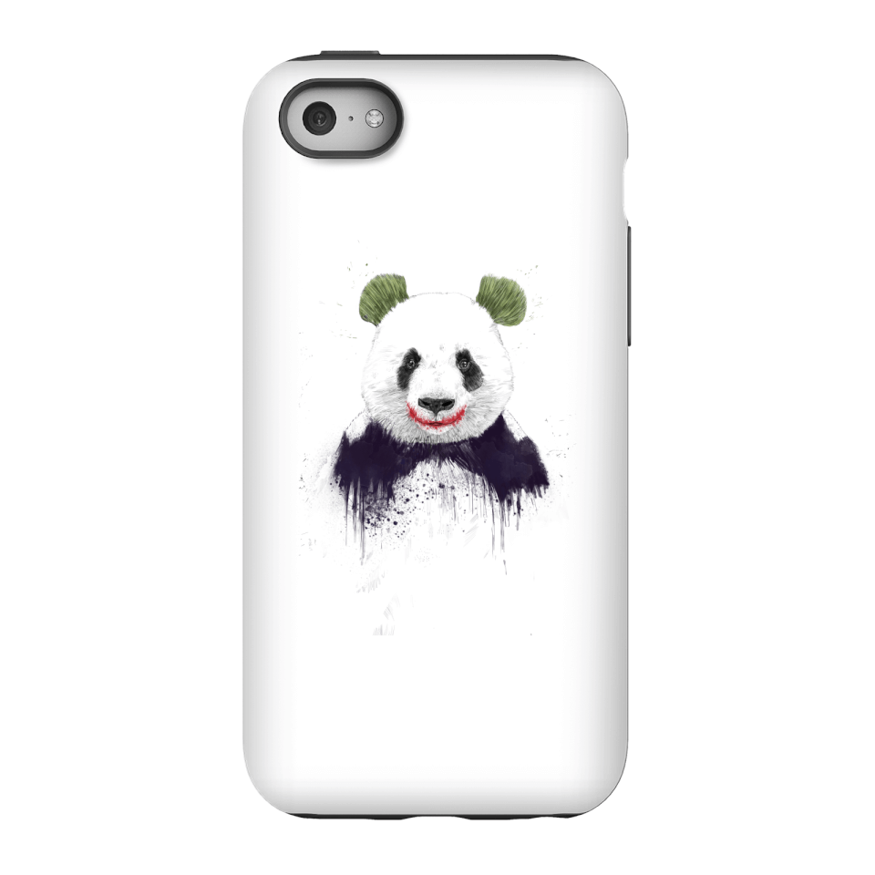 Balazs Solti Joker Panda Phone Case for iPhone and Android - iPhone 5C - Tough Case - Matte von Balazs Solti