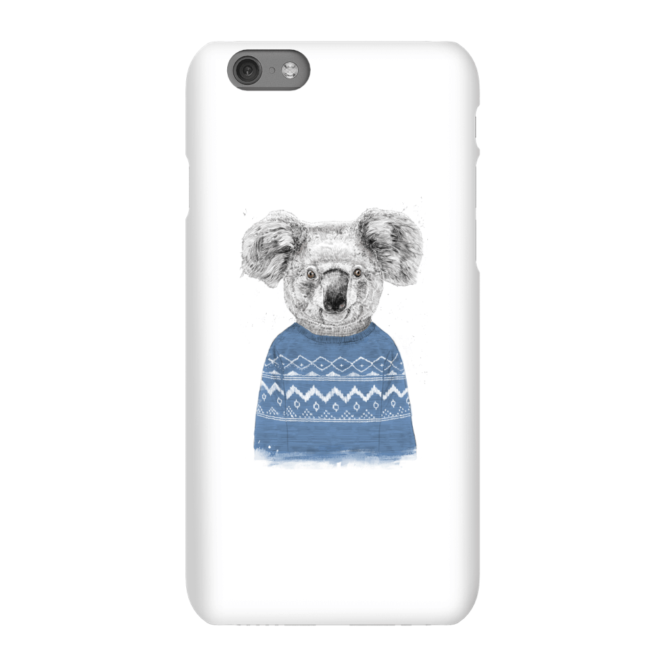 Balazs Solti Koala And Jumper Phone Case for iPhone and Android - iPhone 6S - Snap Case - Matte von Balazs Solti