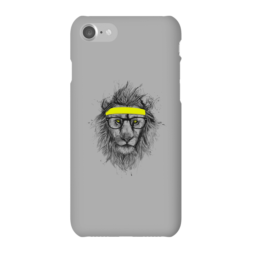 Balazs Solti Lion And Sweatband Phone Case for iPhone and Android - iPhone 7 - Snap Case - Gloss von Balazs Solti