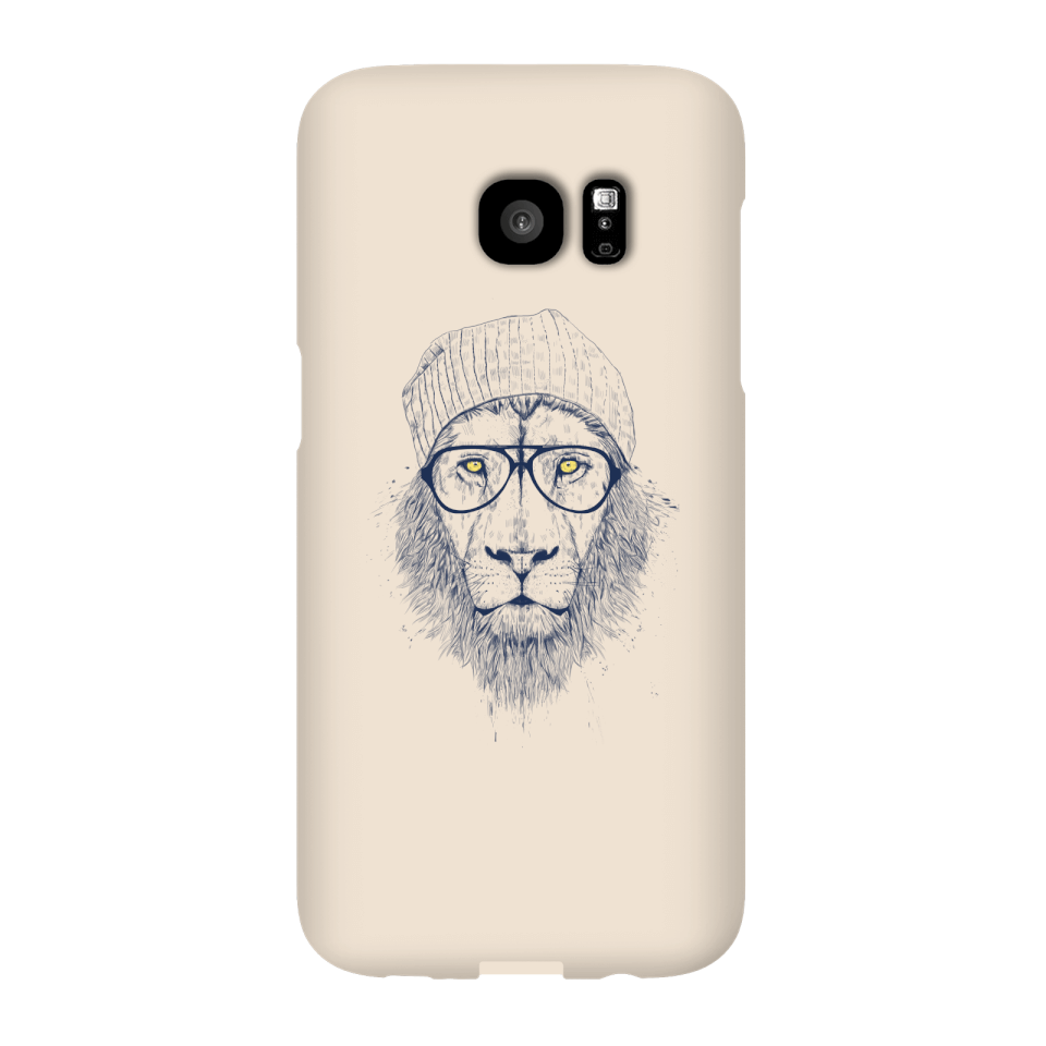 Balazs Solti Lion Phone Case for iPhone and Android - Samsung S7 Edge - Snap Case - Matte von Balazs Solti