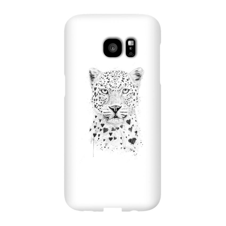 Balazs Solti Love Hearts Phone Case for iPhone and Android - Samsung S7 Edge - Snap Case - Gloss von Balazs Solti