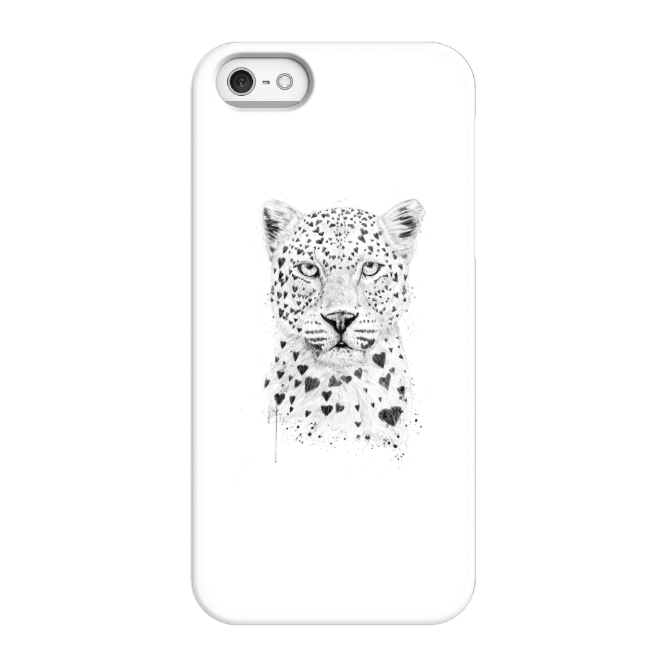 Balazs Solti Love Hearts Phone Case for iPhone and Android - iPhone 5/5s - Snap Case - Gloss von Balazs Solti