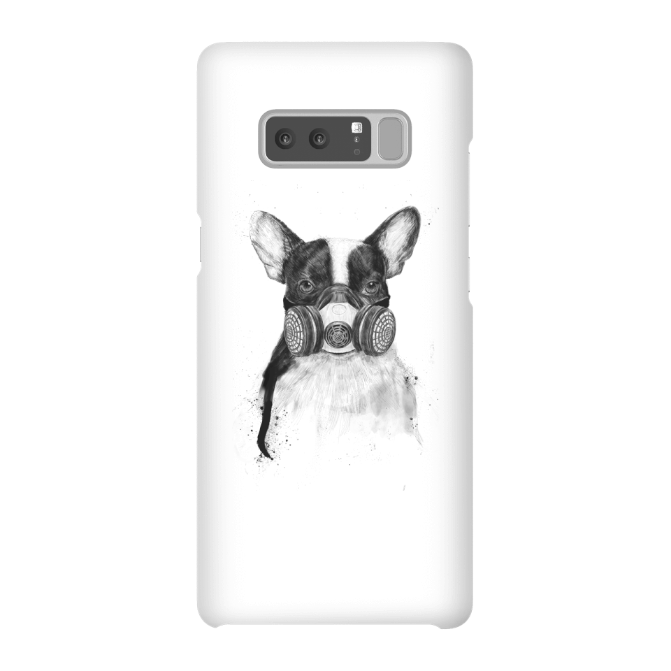 Balazs Solti Masked Bulldog Phone Case for iPhone and Android - Samsung Note 8 - Snap Case - Matte von Balazs Solti