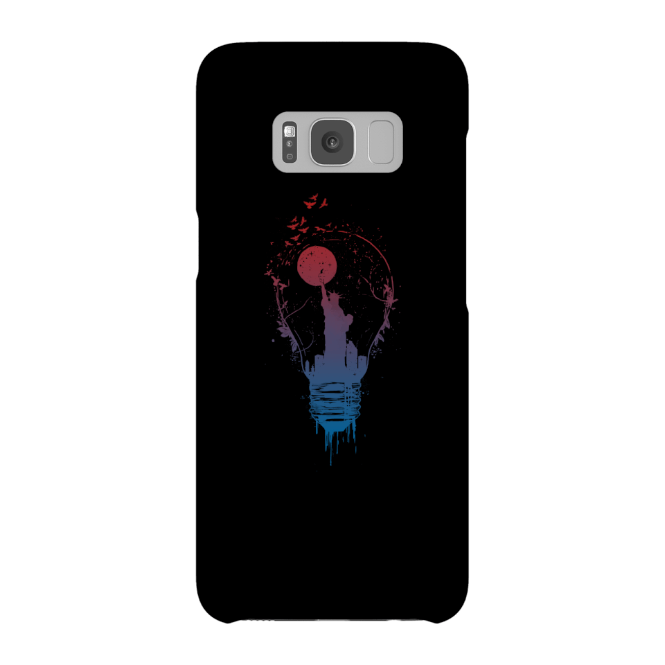 Balazs Solti NYC Moon Phone Case for iPhone and Android - Samsung S8 - Snap Case - Matte von Balazs Solti