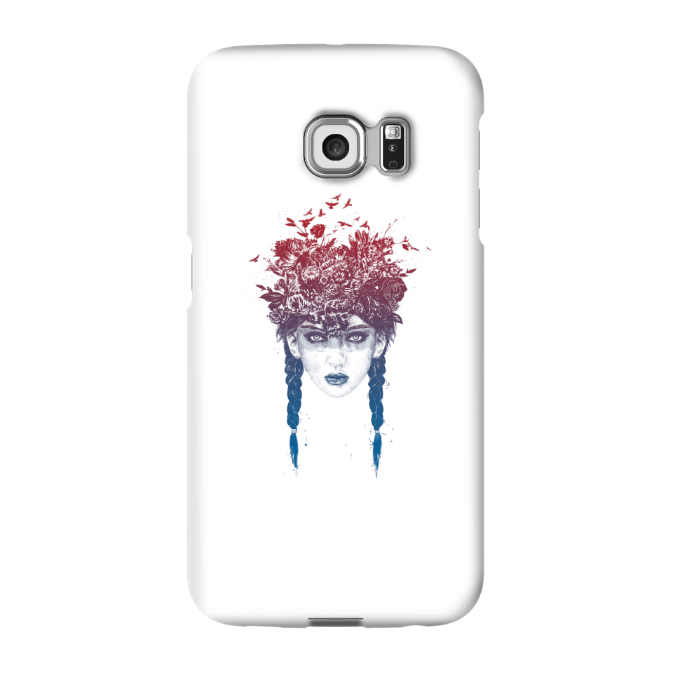 Balazs Solti Native Girl Phone Case for iPhone and Android - Samsung S6 Edge Plus - Snap Case - Matte von Balazs Solti