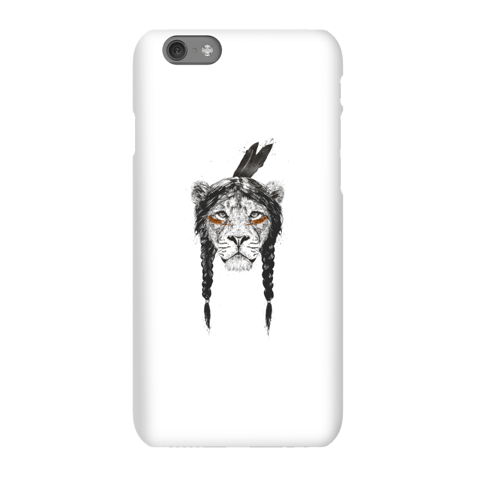 Balazs Solti Native Lion Phone Case for iPhone and Android - iPhone 6S - Snap Case - Matte von Balazs Solti