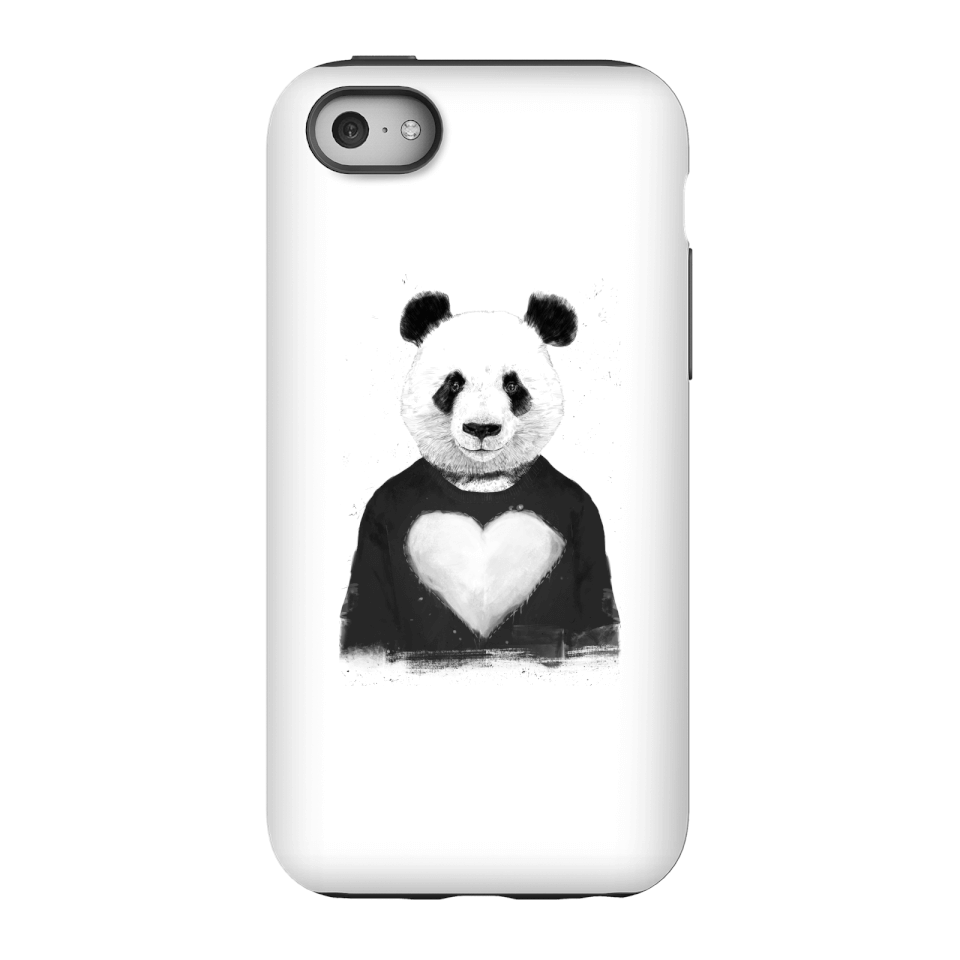 Balazs Solti Panda Love Phone Case for iPhone and Android - iPhone 5C - Tough Case - Gloss von Balazs Solti