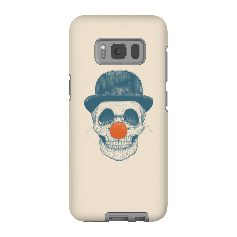 Balazs Solti Red Nosed Skull Phone Case for iPhone and Android - Samsung S8 - Tough Case - Matte von Balazs Solti