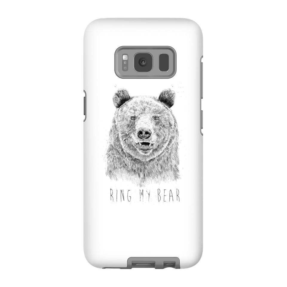 Balazs Solti Ring My Bear Phone Case for iPhone and Android - Samsung S8 - Tough Case - Gloss von Balazs Solti