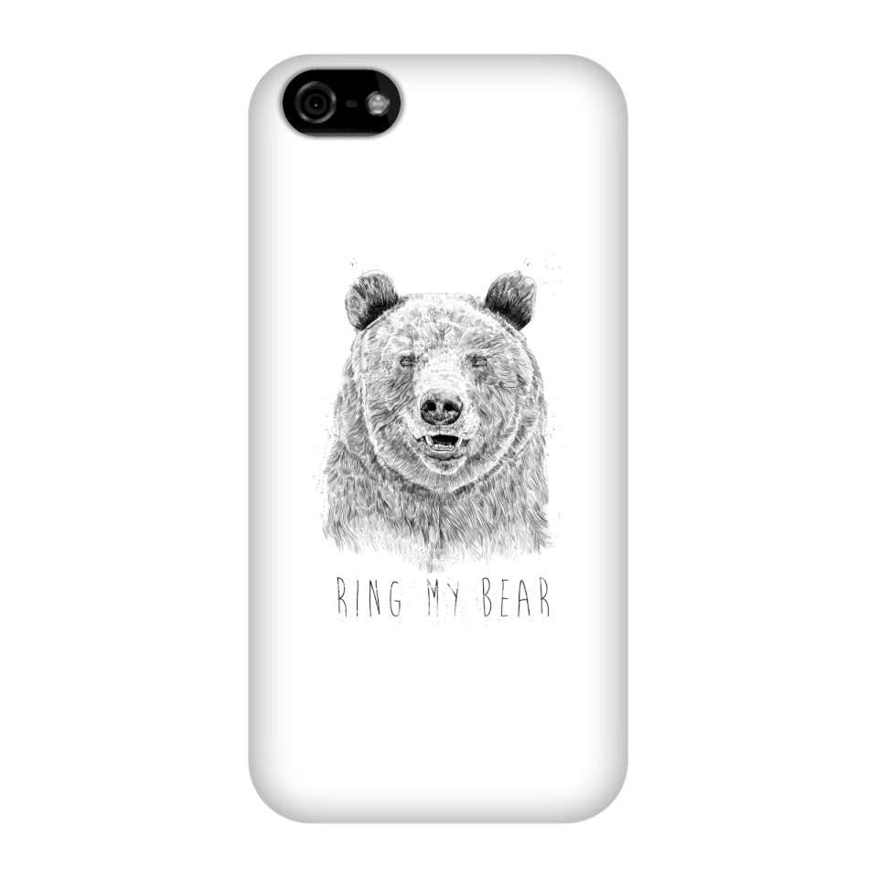 Balazs Solti Ring My Bear Phone Case for iPhone and Android - iPhone 5C - Snap Case - Gloss von Balazs Solti
