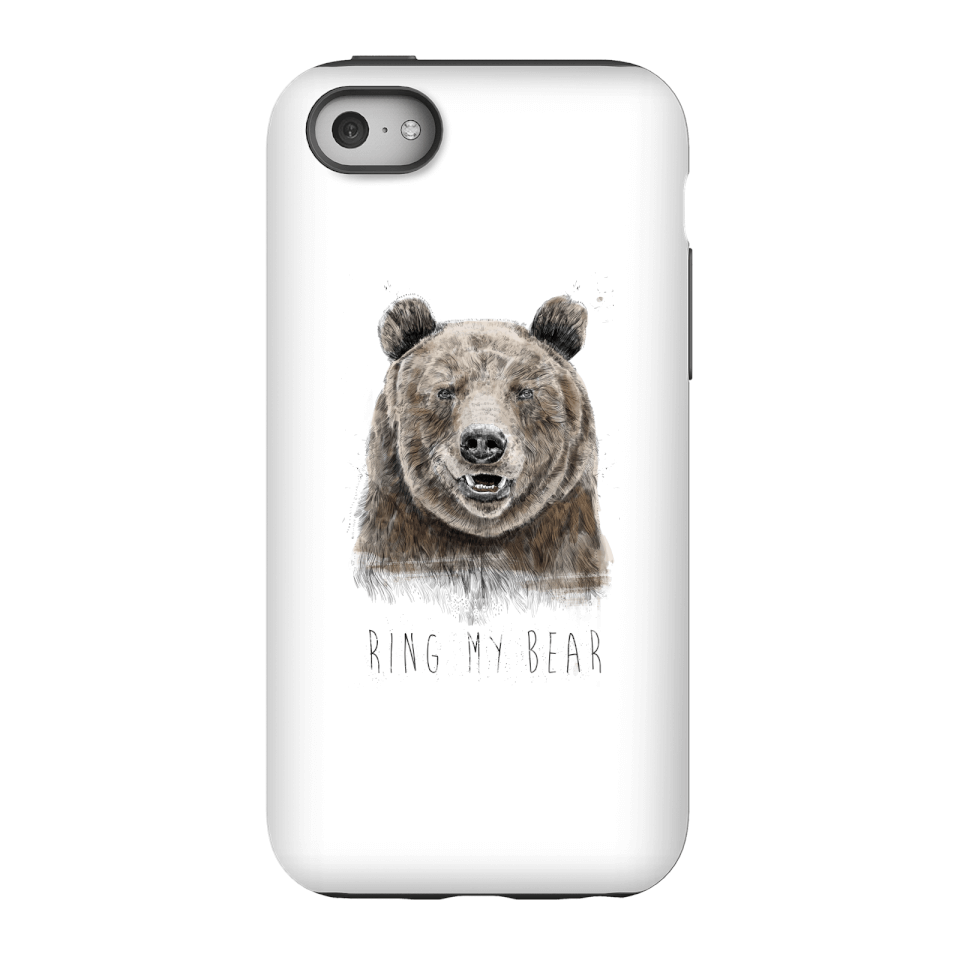 Balazs Solti Ring My Bear Phone Case for iPhone and Android - iPhone 5C - Tough Case - Gloss von Balazs Solti