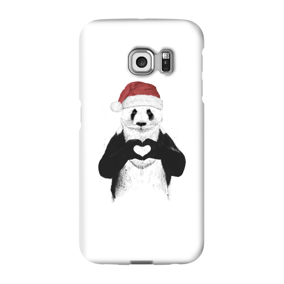Balazs Solti Santa Bear Phone Case for iPhone and Android - Samsung S6 Edge Plus - Snap Case - Matte von Balazs Solti