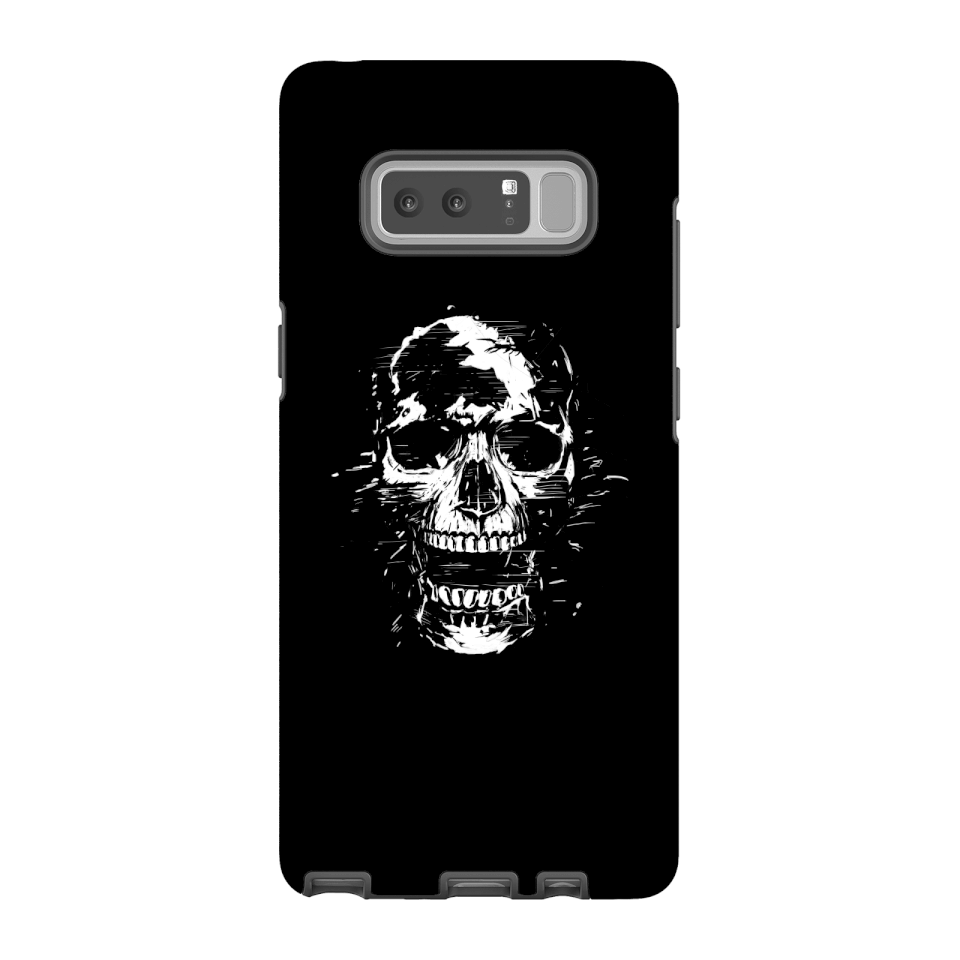 Balazs Solti Skull Phone Case for iPhone and Android - Samsung Note 8 - Tough Case - Gloss von Balazs Solti