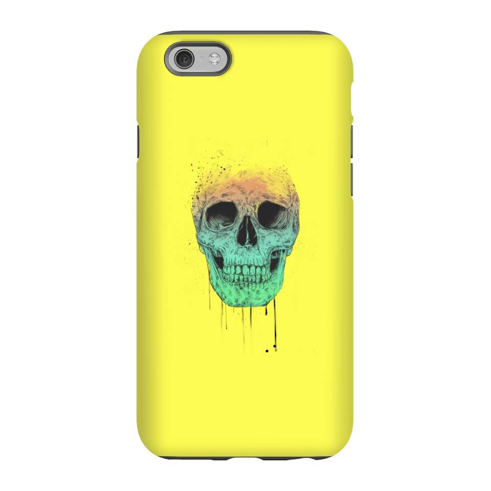 Balazs Solti Skull Phone Case for iPhone and Android - iPhone 6S - Tough Case - Gloss von Balazs Solti