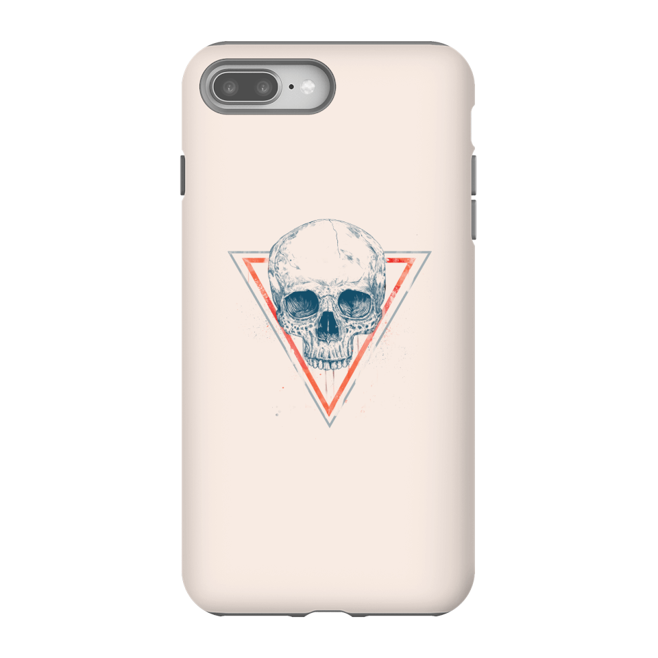 Balazs Solti Skull Phone Case for iPhone and Android - iPhone 8 Plus - Tough Case - Gloss von Balazs Solti