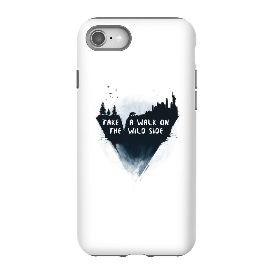 Balazs Solti Take A Walk On The Wild Side Phone Case for iPhone and Android - iPhone 8 - Tough Case - Gloss von Balazs Solti