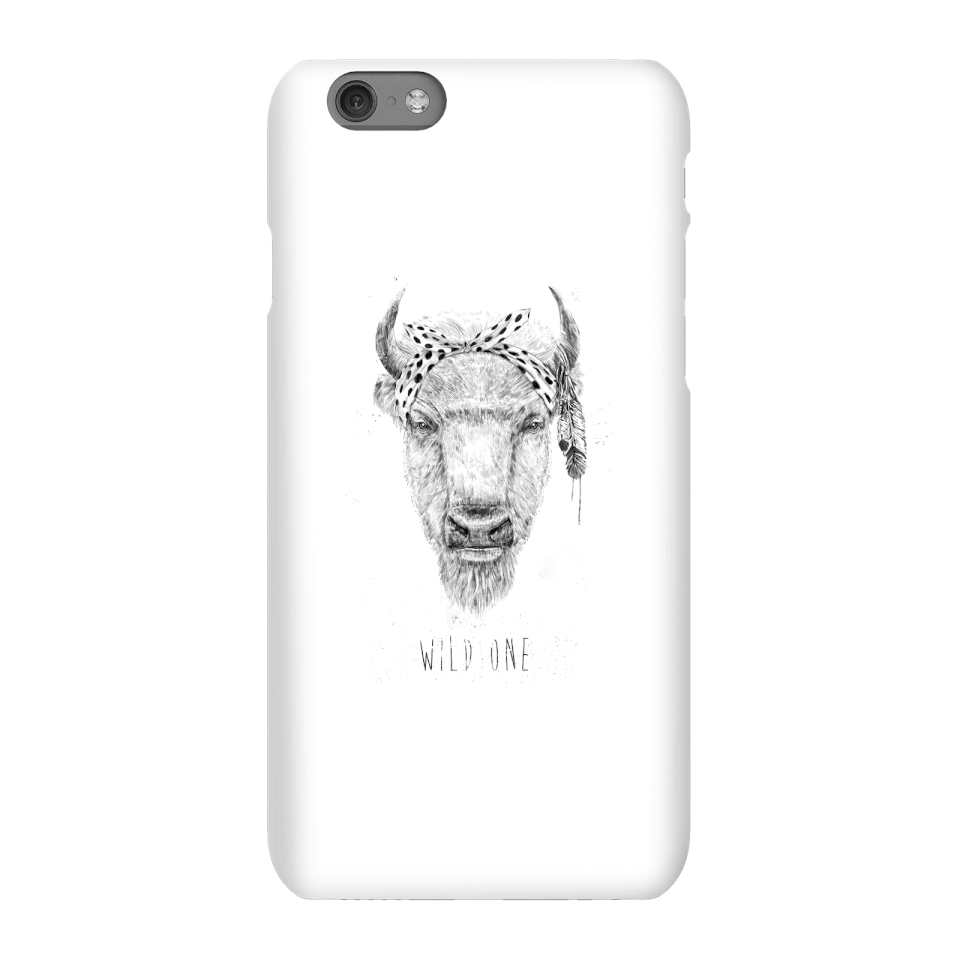 Balazs Solti Wild One Phone Case for iPhone and Android - iPhone 6S - Snap Case - Matte von Balazs Solti