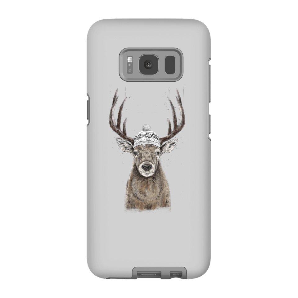 Balazs Solti Winter Deer Phone Case for iPhone and Android - Samsung S8 - Tough Case - Matte von Balazs Solti