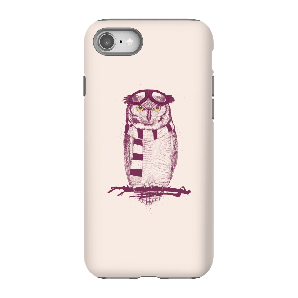 Balazs Solti Winter Owl Phone Case for iPhone and Android - iPhone 8 - Tough Case - Gloss von Balazs Solti