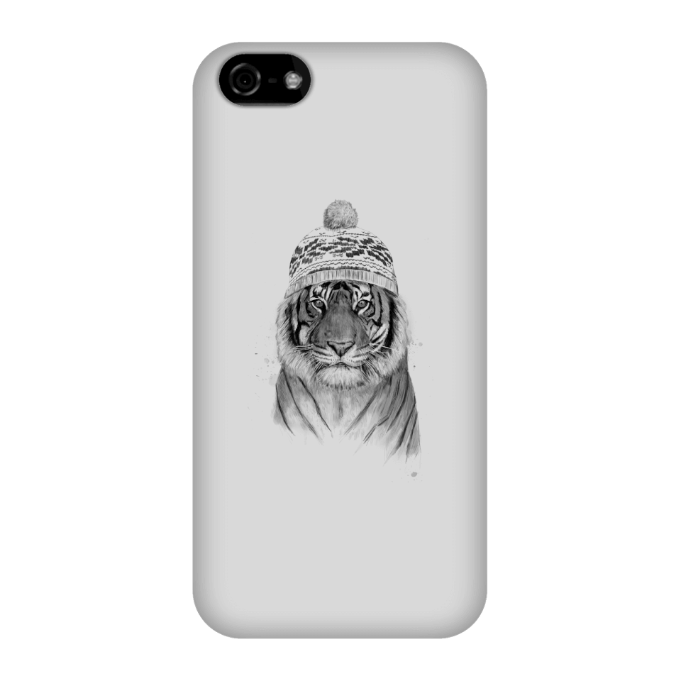 Balazs Solti Winter Tiger Phone Case for iPhone and Android - iPhone 5C - Snap Case - Gloss von Balazs Solti