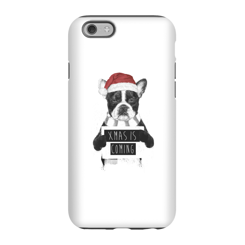 Balazs Solti Xmas Is Coming Phone Case for iPhone and Android - iPhone 6 - Tough Case - Gloss von Balazs Solti
