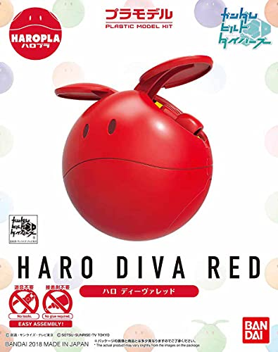 Bandai Hobby Gundam Build Divers HARO Pla 02 HARO Diva Red Model Kit von Bandai Hobby