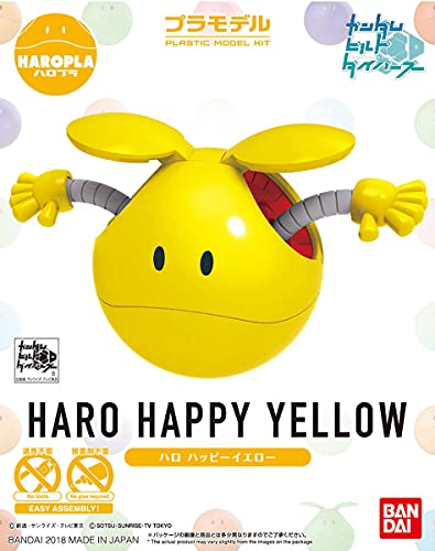 Bandai Hobby Gundam Build Divers HARO PLA 06 HARO Happy Yellow Gelb Model Kit von Bandai Hobby